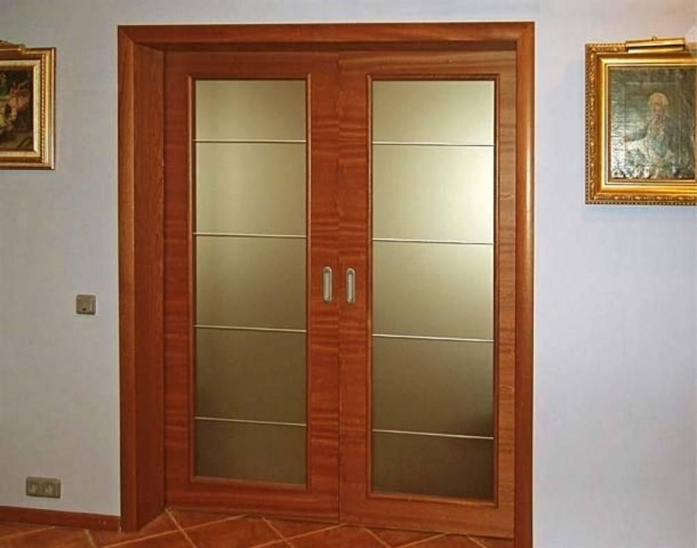 Межкомнатные двойные двери в зал. какие лучше установить?   все про двери