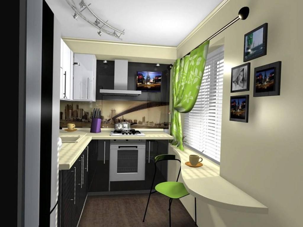 Создание интерьера кухни 6 кв м в хрущевке, фото вариантов