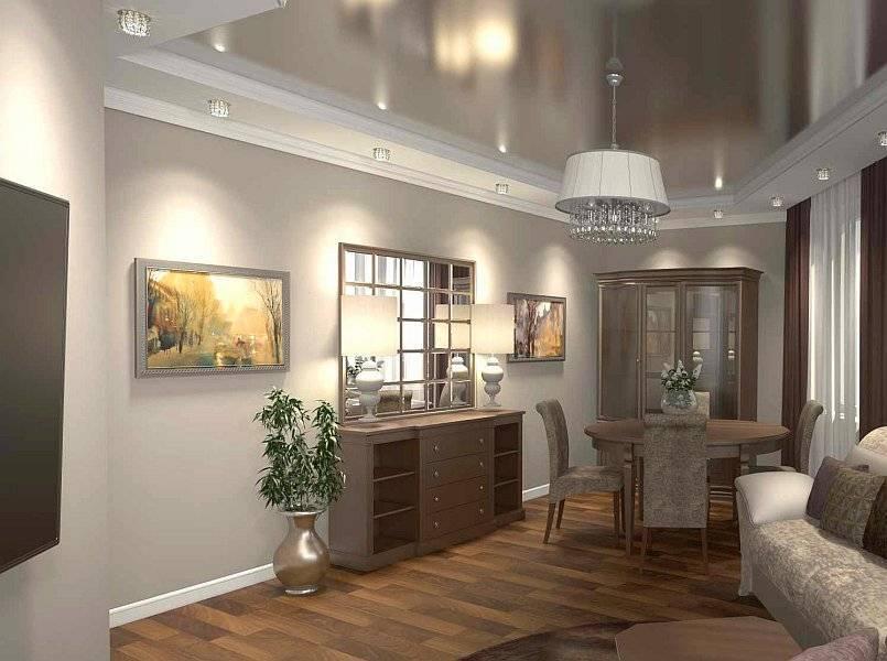 Дизайн квартиры 60 кв. м. - 100 фото оригинальных идей