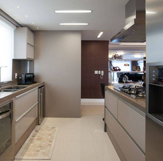 Шоколадный цвет в интерьере кухни — 78 лучших фото современного дизайна