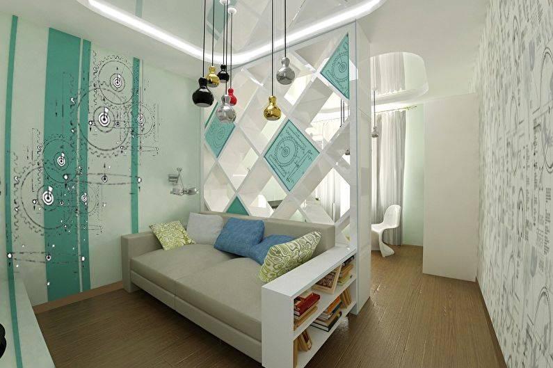 Совмещенная спальня с детской в одной комнате: фото подборка