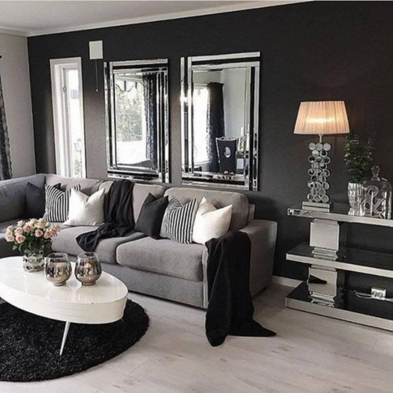 Темная мебель в интерьере +30 фото примеров дизайна - «декор»