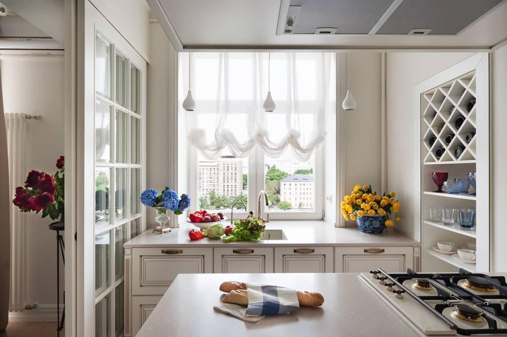 Кухня с двумя окнами: советы по оформлению и готовые идеи дизайна (50 фото) | современные и модные кухни