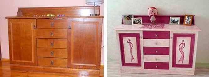 Покраска старой мебели своими руками: пошаговая инструкция и выбор цвета