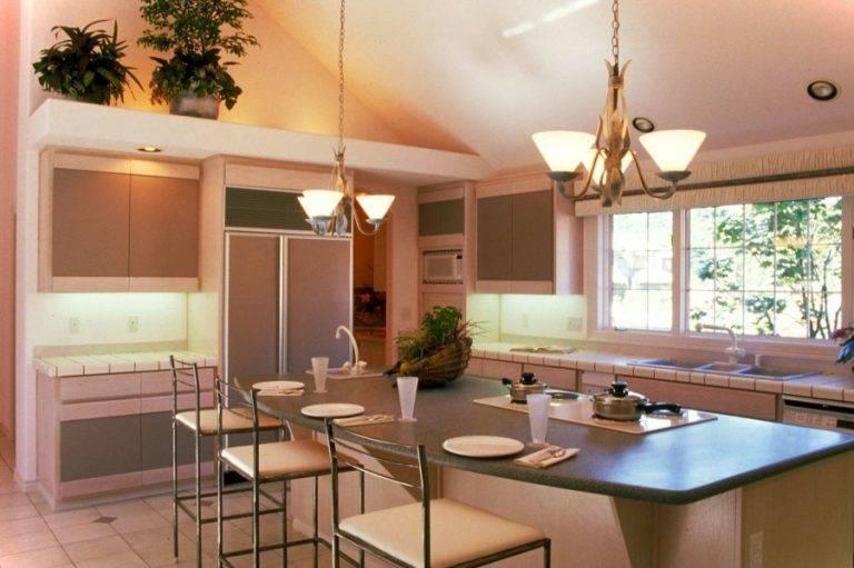 Кухня с выходом на террасу: 50 фото вариантов дизайна