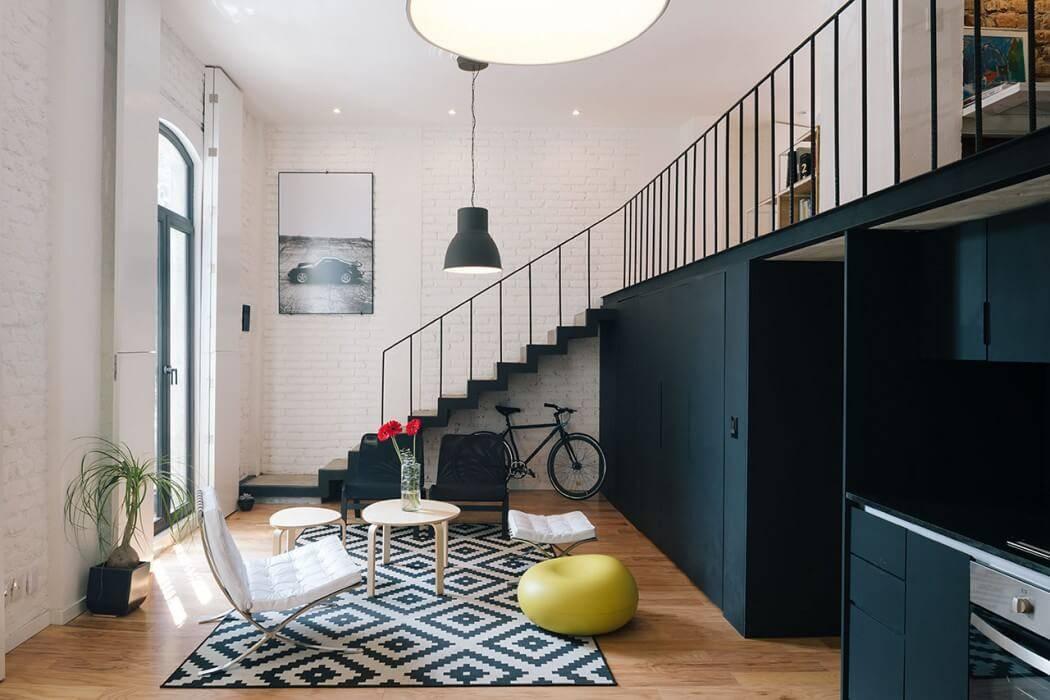 Дизайн двухуровневой квартиры 50 фото идей