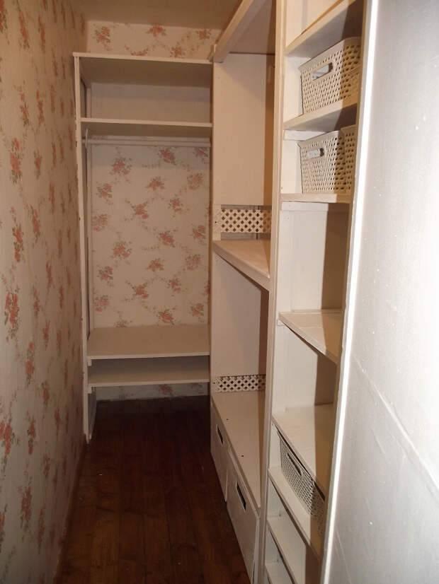 Как оформить кладовку в квартире?