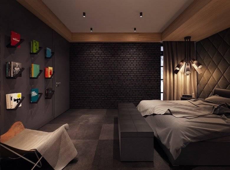 Спальня с темной мебелью: подбор дизайна и выбор мебели для разных вариантов комнат