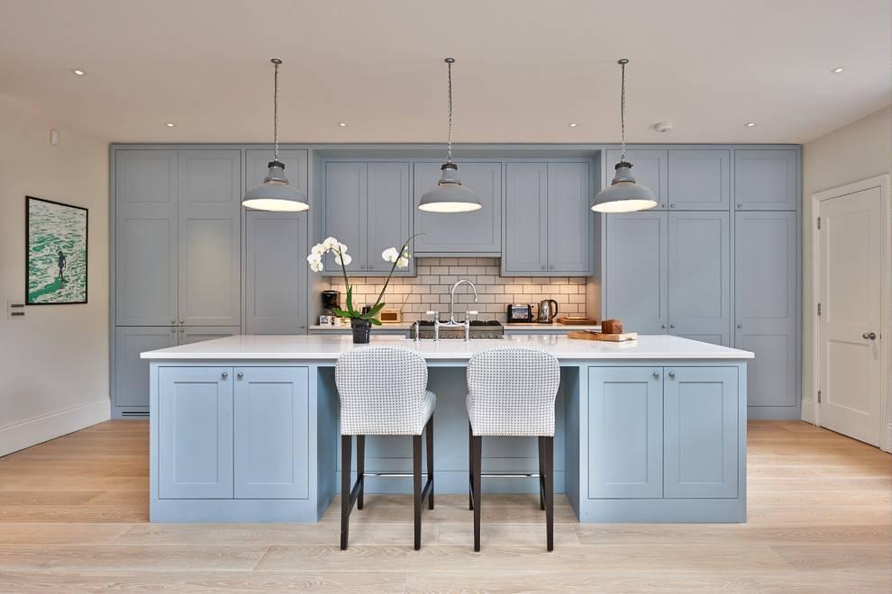 Серо белая кухня: идеи и советы как обустроить кухню (55 фото)   современные и модные кухни
