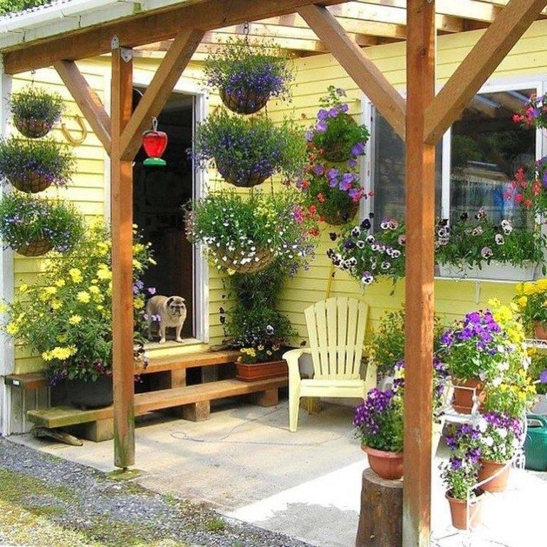 Украшения для сада — 100 фото необычных декоративных идей оформления дизайна