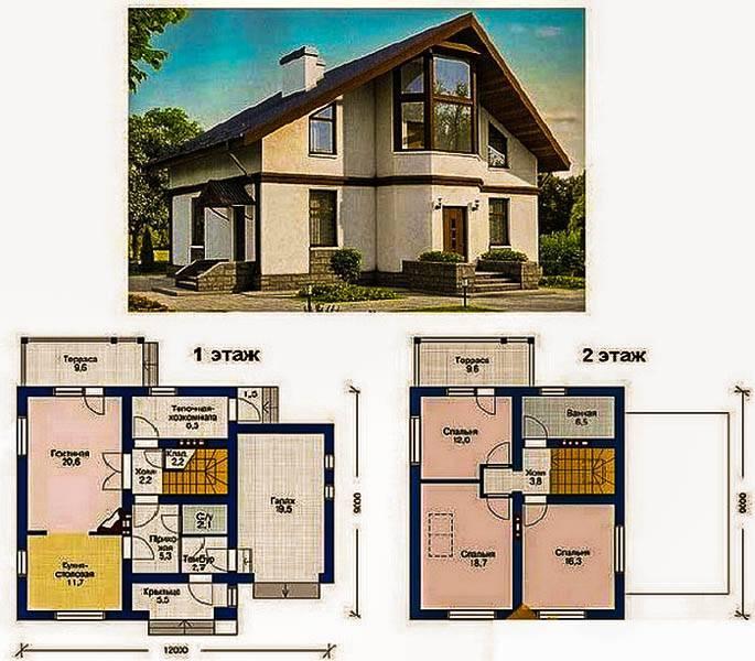Планировка дома с мансардой — лучшие идеи, варианты оформления и актуальные проекты (105 фото)