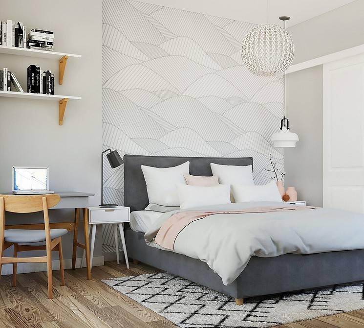 Какие обои выбрать для спальни в 2020-2021 году: идеи с фото - модный журнал