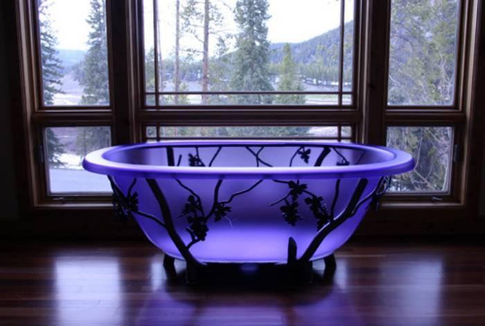Ванны из литьевого мрамора: 100 фото-вариантов, плюс и минусы