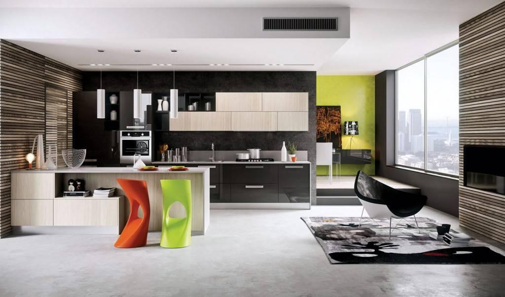 Стены на кухне: 105 фото лучших решений дизайнеров и советы по выбору стиля в 2019 году