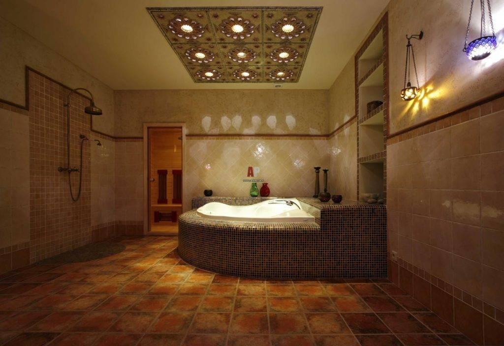 Дизайн интерьера гостиной в восточном стиле (арабско-турецком) - фото, примеры, идеи