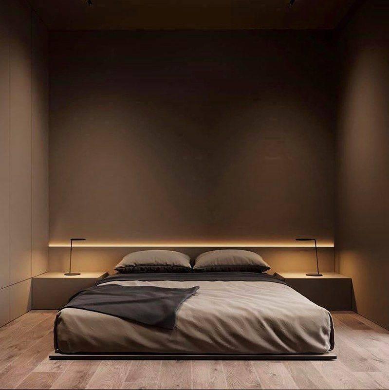 Спальня в стиле минимализм (80 фото) - дизайн интерьера, идеи ремонта и отделки