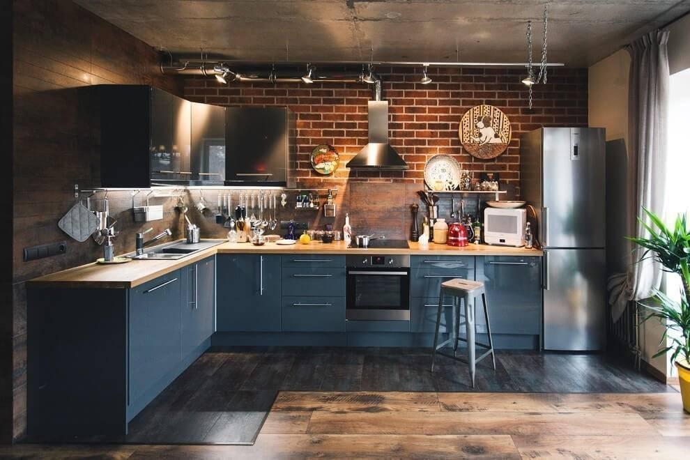 Как оформить кухню в стиле лофт - подробный гид по дизайну