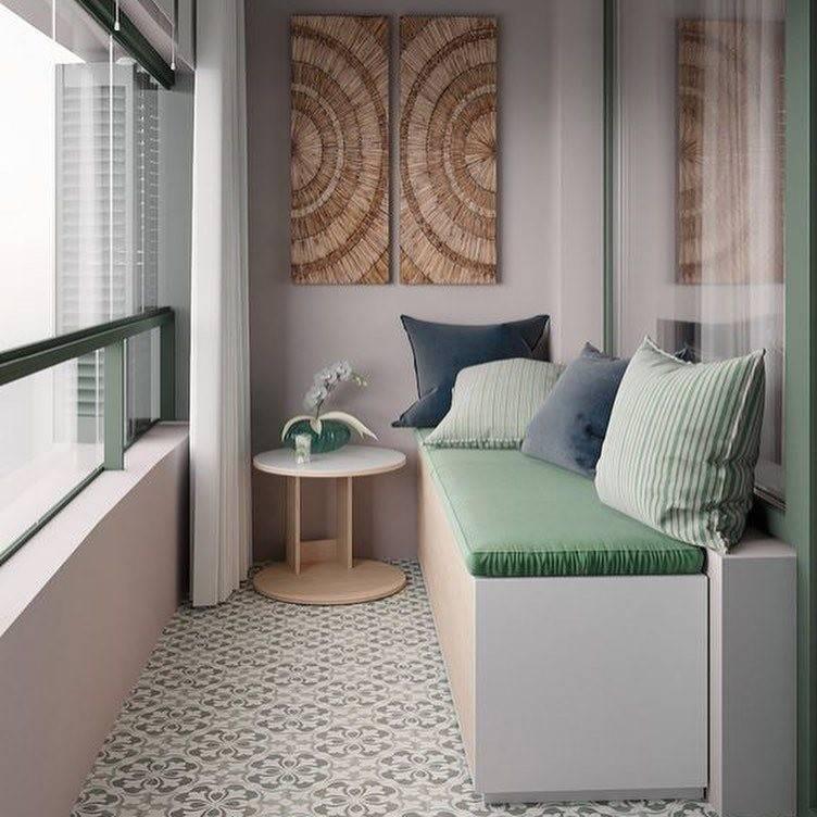 Дизайн балкона и лоджии: идеи оформления, отделка, выбор цвета, мебели, стиля и декора