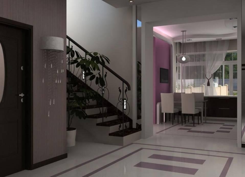 Стильный дизайн холла в доме и квартире: полезные дизайнерские советы