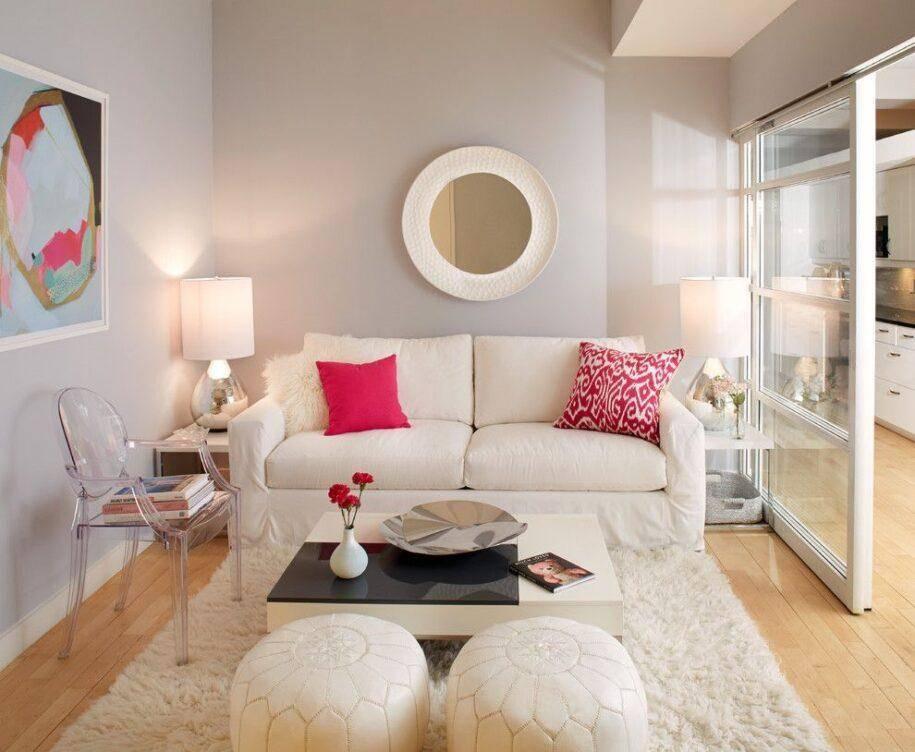 Дизайн маленькой гостиной (95 фото): современные идеи - 2021 оформления интерьера небольшого зала в квартире