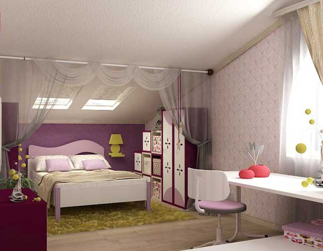 Мансардная спальня: советы по обустройству и идеи дизайна (40 фото)