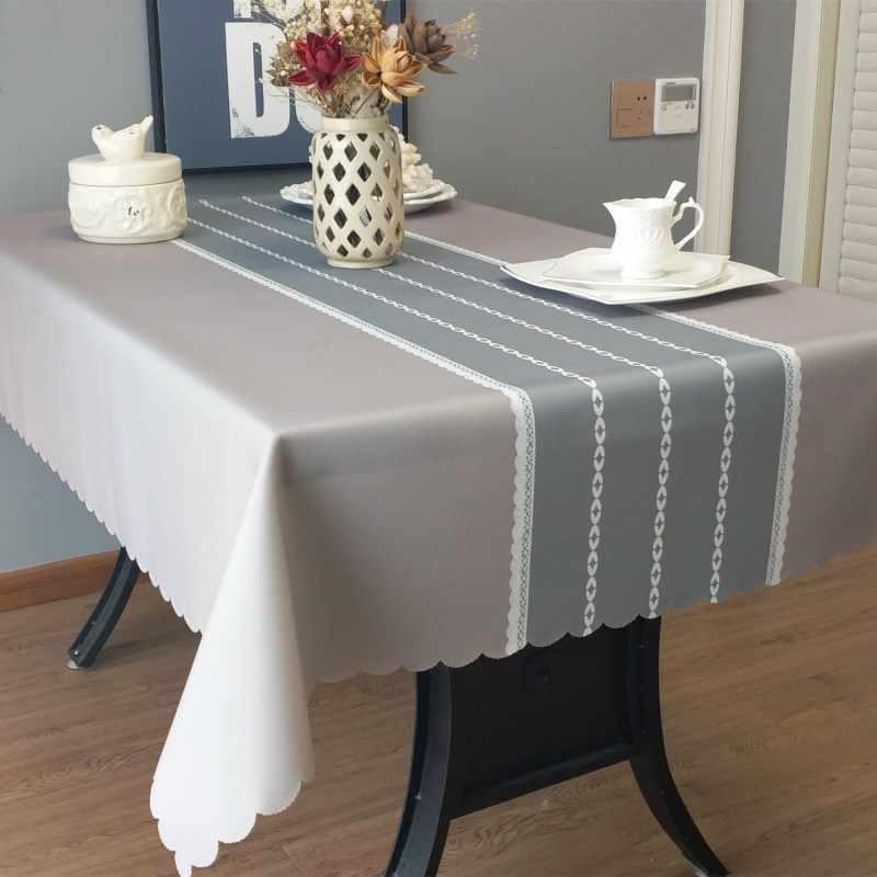Размеры скатерти на стол: виды размеров