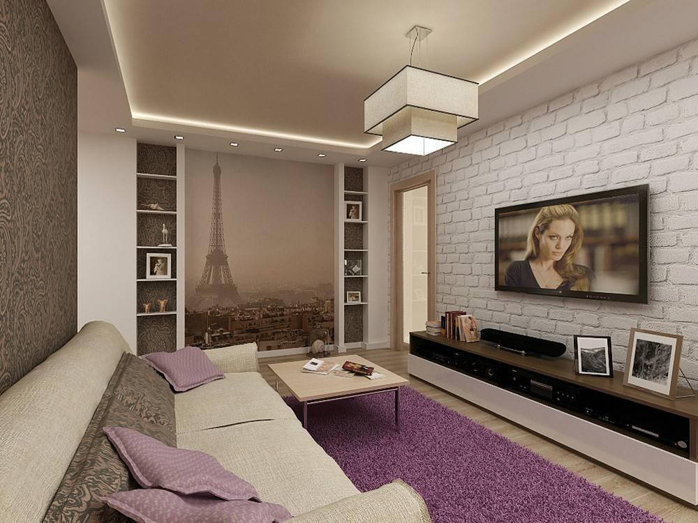 Фото обзор лучших идей дизайна гостиной 18 кв м