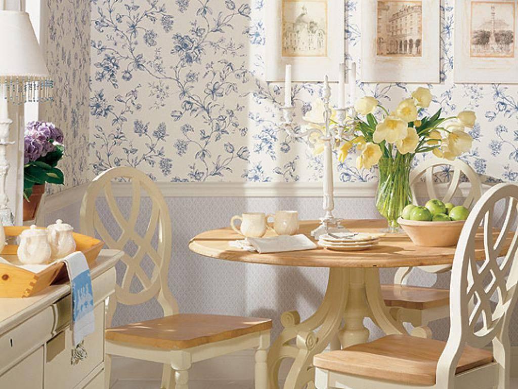Oбои прованс для кухни, спальни, гостиной