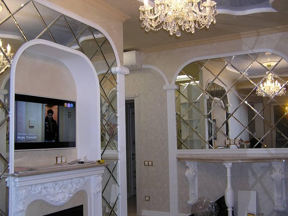 Зеркальная плитка в ванной: особенности, плюсы и минусы, рекомендации по выбору