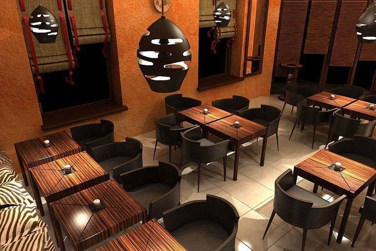 Дизайн интерьера кафе: cтили, виды оформления, цвет, мебель, разработка | ileds.ru