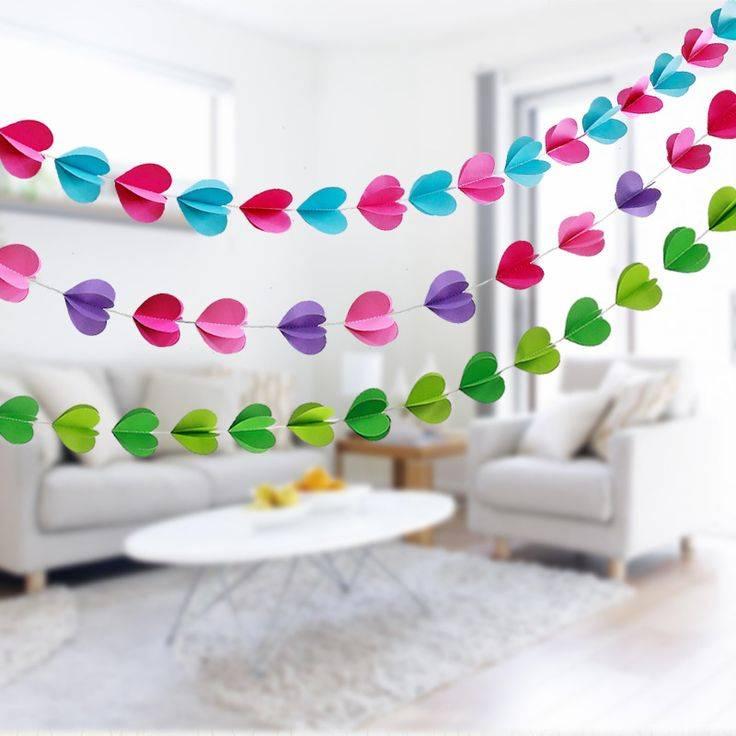 Интересные идеи украшений гирляндами к новому году