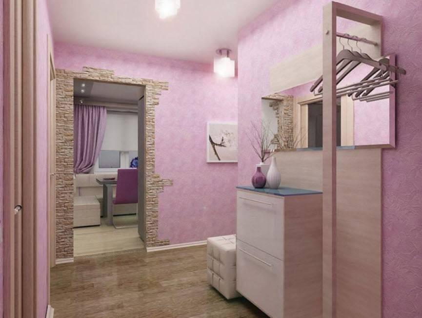 Фиолетовые обои в интерьере (51 фото): темные и светлые однотонные цвета стен комнаты, нежные сочетания с белым
