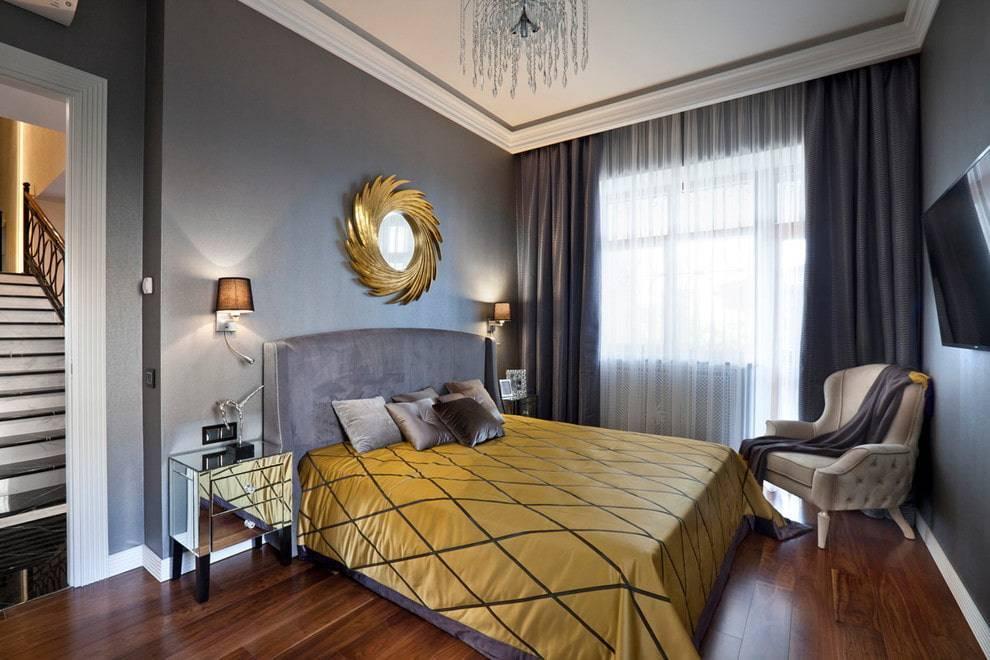 Спальня арт-деко: идеи оформления дизайна интерьера, фото