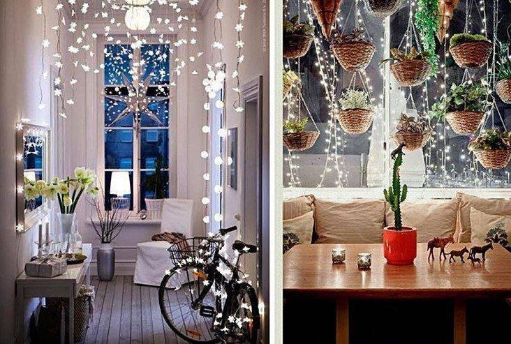 Украшаем квартиру к новому году 2020 — 100 фото новогоднего интерьера