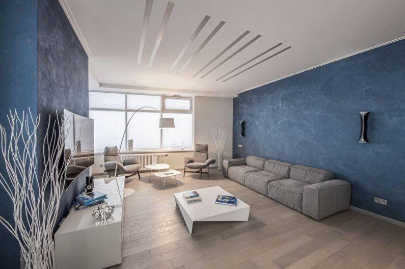 Стиль минимализм в интерьере современной квартиры - 105 фото