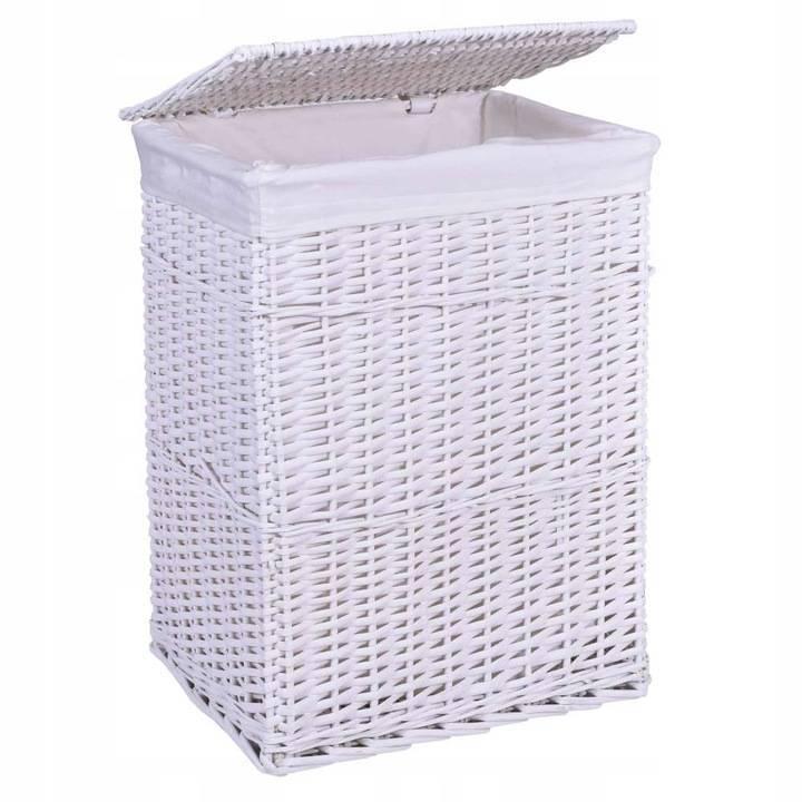 Какие бывают корзины для белья в ванную комнату — материалы, форма, фото и советы по выбору