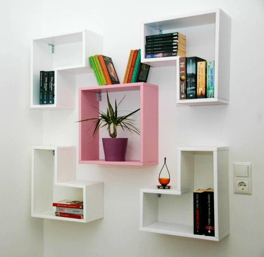 Полки в гостиную - современный дизайн (56 фото): полки на стену под телевизор в интерьере зала, настенные изделия из гипсокартона