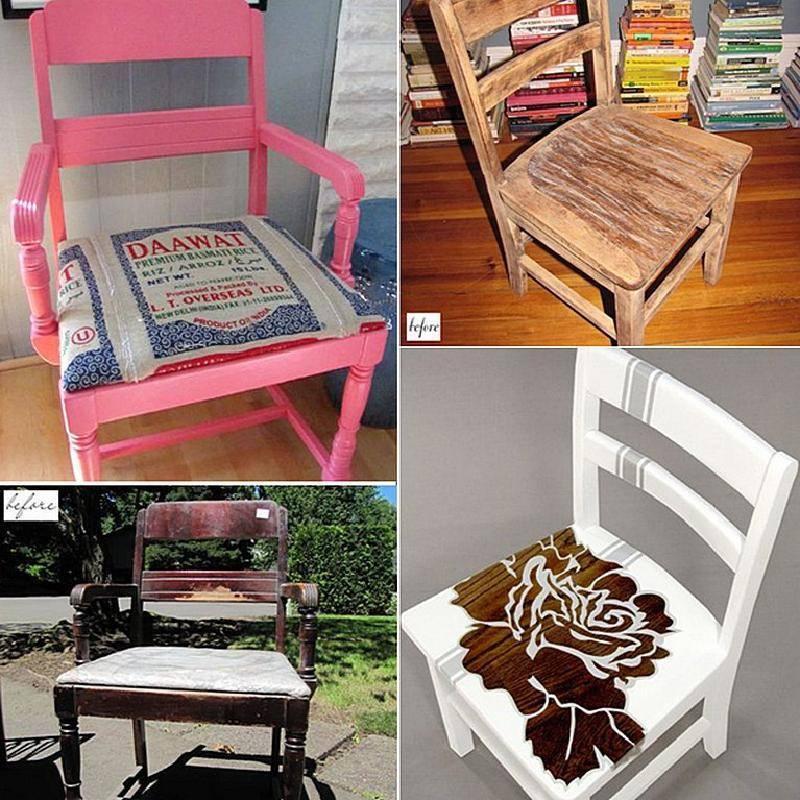 Декупаж стула в домашних условиях