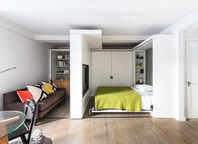 Дизайн гостиной-спальни 17 кв. м (45 фото): интерьер комнаты 17 кв. м., дизайн-проекты