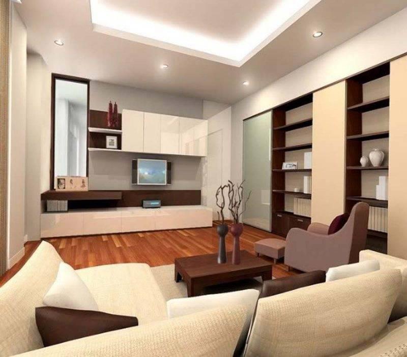 Дизайн интерьера маленькой гостиной: правильная расстановка мебели, благоприятные цветовые решения и эффективное зонирование +видео