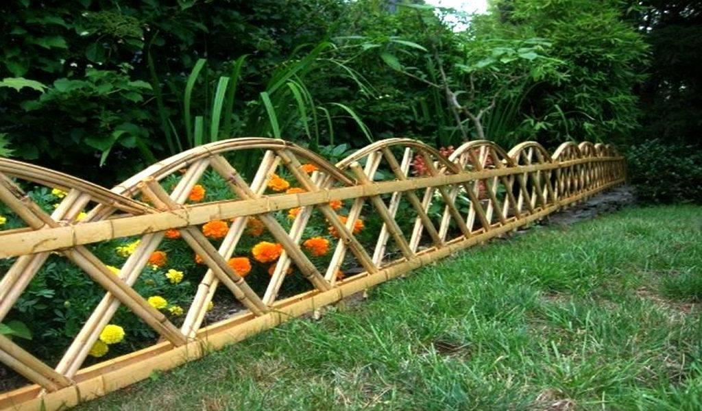 Декоративный забор своими руками +50 фото примеров