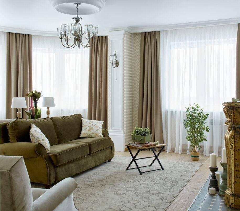 Гостиная в бежевых тонах: пастельная палитра в дизайне интерьера + 70 фото