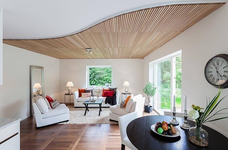 Дизайн потолка 2021: новинки, модные тренды (+60 фото)