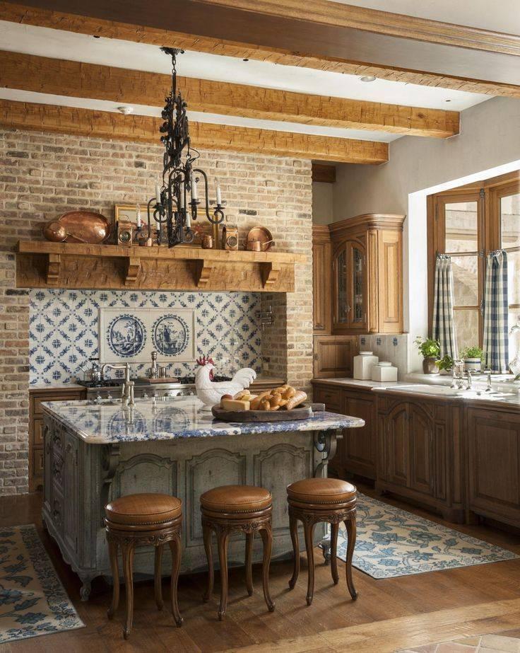 Кухня в стиле кантри: изучаем основы создания интерьера