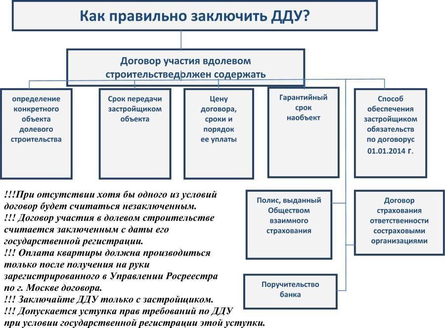 Покупка квартиры по договору долевого участия инструкция