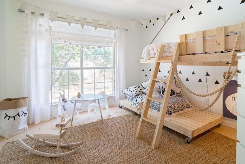 Детские спальни - 150 фото с необычными примерами оформления интерьеров!