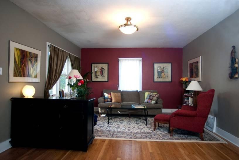 Бордовый цвет в интерьере гостиной, спальни, кухни - с какими цветами сочетается?