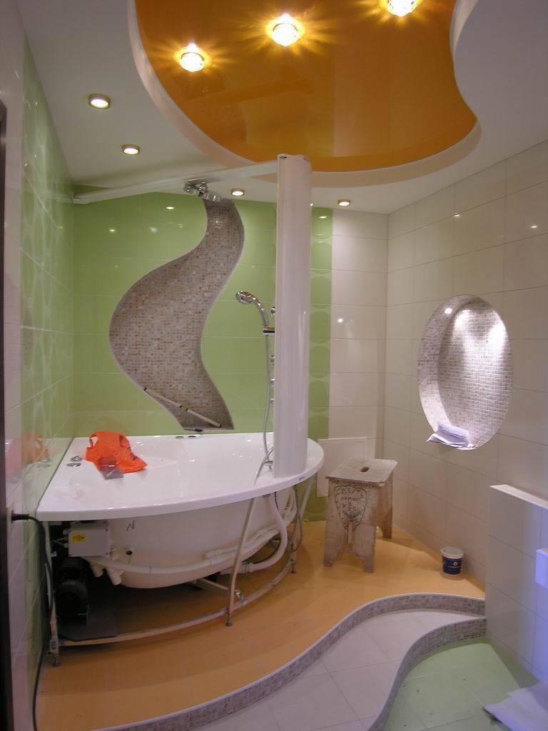 Потолок в ванной — выбор конструкции, особенности подбора материалов и дизайна. лучшие новинки дизайна и оформления 2018 года