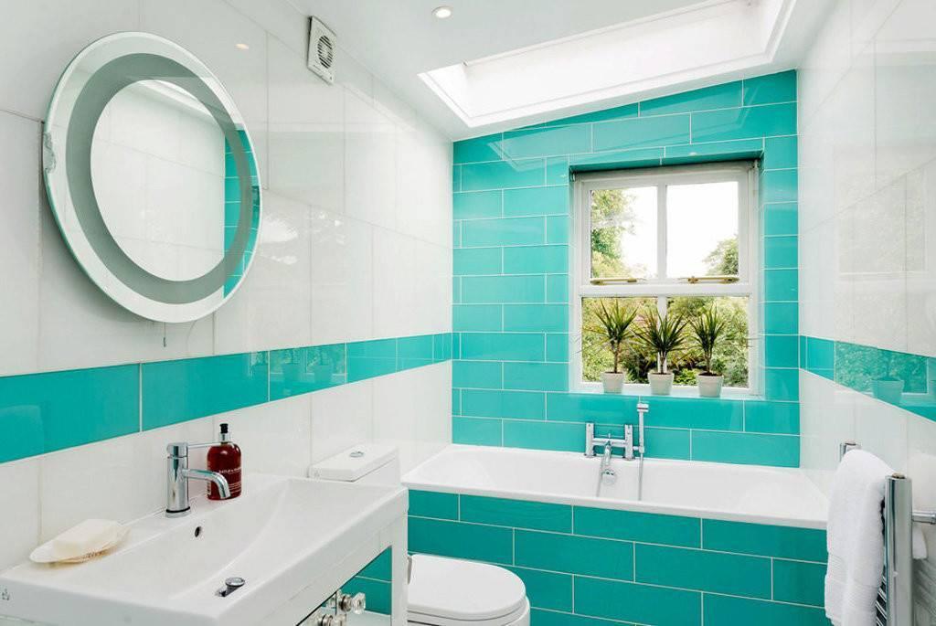 25 стильных идей, как оформить ванную комнату в бирюзовом цвете