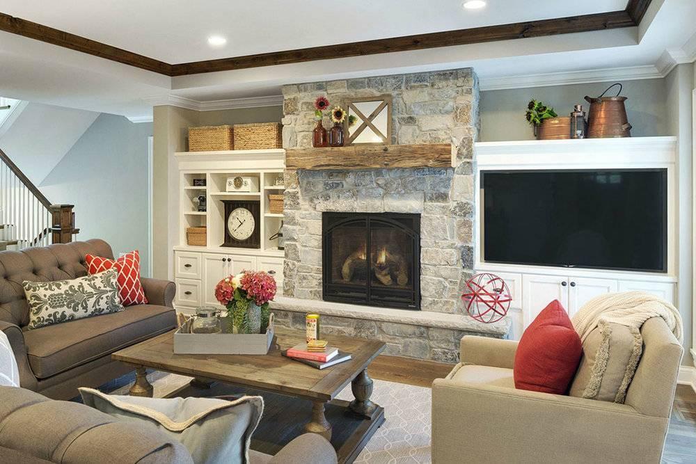 Гостиная с камином в стиле прованс (33 фото): как украсить портал печи на даче, как обустроить деревянный вариант, эффектные примеры в интерьере